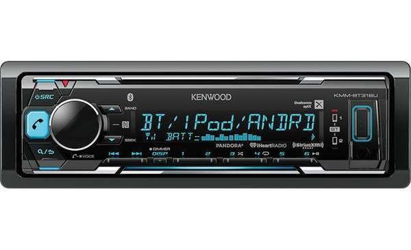 Photo Kenwood KMM-BT315U (Bluetooth, Pandora  iHeart Radio) Car Stereo. - $60 (Huntington)