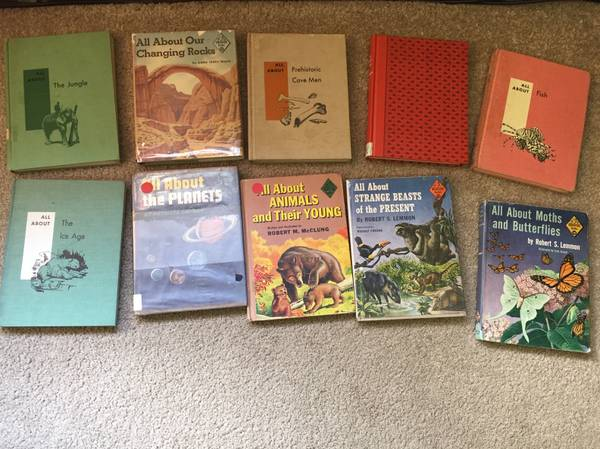 Photo Lot of 26 vintage All About Books, Random House - $110 (Vienna)