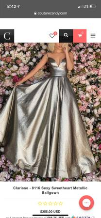 Photo Prom Dress Size 20 - $325 (South Point)
