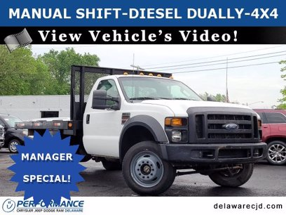 Photo Used 2010 Ford F450 4x4 Regular Cab Super Duty for sale