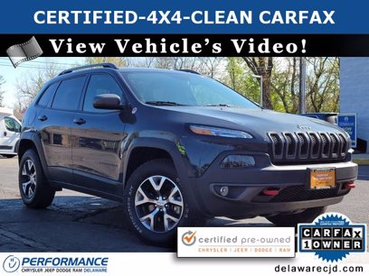 Photo Used 2017 Jeep Cherokee 4WD Trailhawk for sale