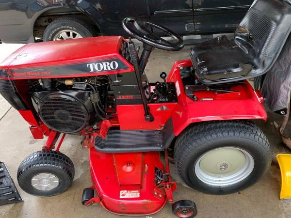 Photo Wheel Horse Garden Tractor 416-8 - $895 (Ashland)