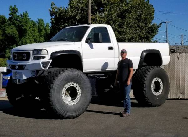 Photo 04 gmc duramax monster truck sell or trade what do you have 1969 1967 - $18