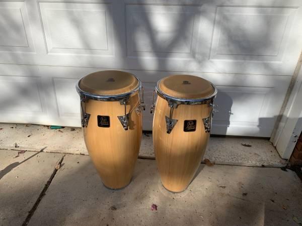 Photo 12 drums Aspire LP pair - $100 (Madison)