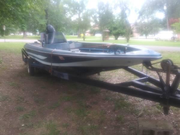 Photo 1650 Mercury Motor Procraft Bass Boat For Sale - $1050