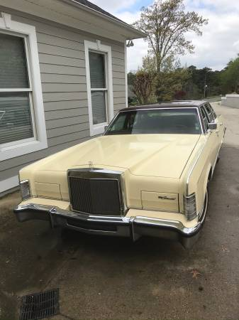 Photo 1979 Lincoln Town Car (Cartier) - $8500 (Guntersville)