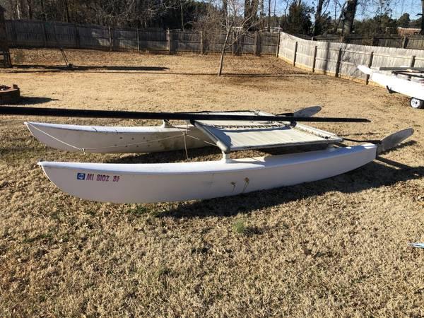 Photo 1980 Hobie 16 Project Boat - $200 (Madison)