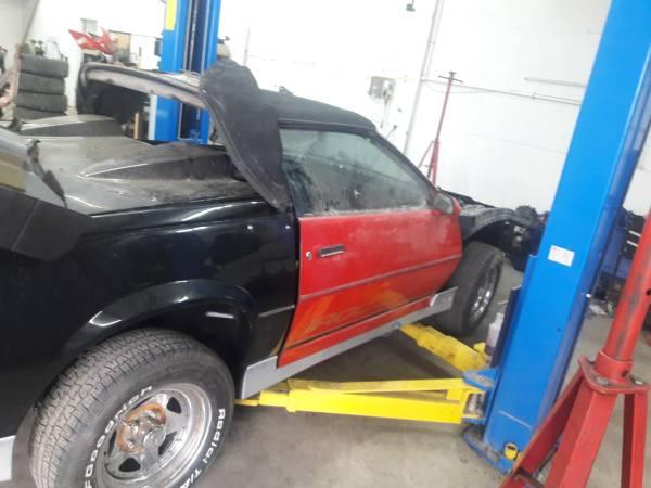 Photo 1984 project camaro Convertible,new parts - $4,500 (admore)