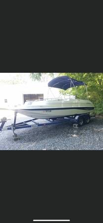 Photo 2003 star craft deck boat - $12,000 (Lincoln)