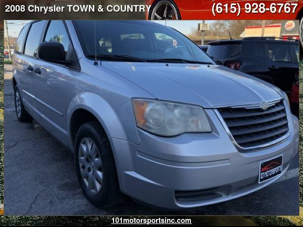 Photo 2008 CHRYSLER TOWN  COUNTRY LX 101 MOTORSPORTS - $4,900 ( Chrysler TOWN  COUNTRY 101 MOTORSPORTS, NASHVILLE)
