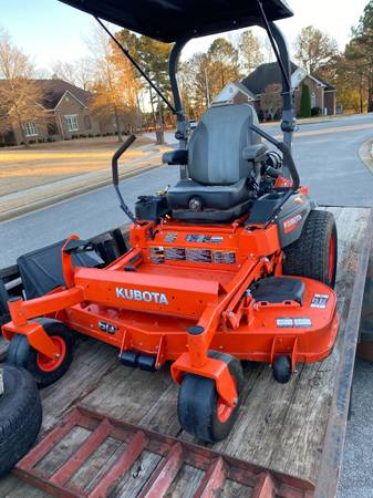 Photo 2019 Kubota Zero Turn 60in Commercial Mower with Warranty - $8,250 (Toney, AL)
