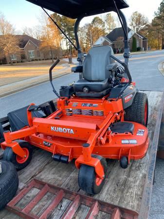 Photo 2019 Kubota Zero Turn 60in Commercial Mower with Warranty - $8,100 (Toney, AL)