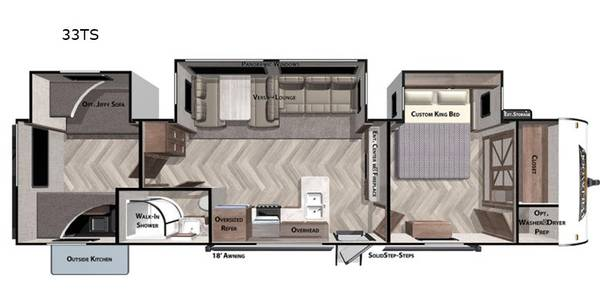 Photo 2020 Wildwood by forest River 33TS - $33,000 (Grant)