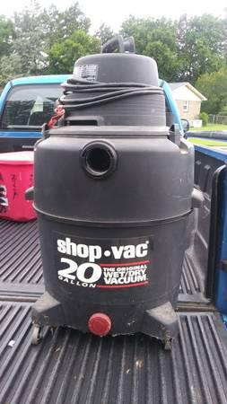 Photo 20 Gallon wetdry shop vac - $50 (N Huntsville AL)
