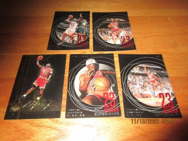 Photo Basketball cards sports collection w Michael Jordan - $30 (Madison)