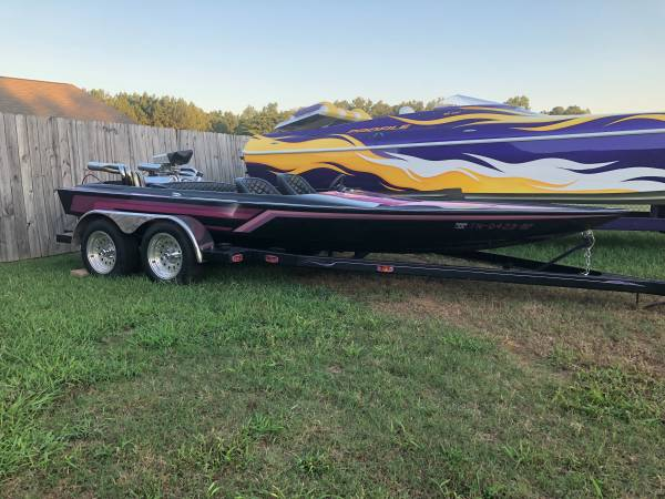 Photo Big Block Vintage Sunkist 18ft Jet Boat - $13900 (Athens)