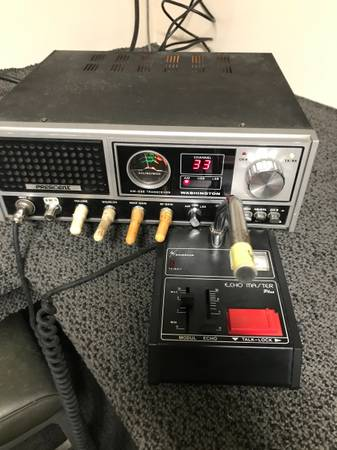 Photo CB base station made by Uniden Washington with extra channels below o - $175 (Hartselle Alabama)