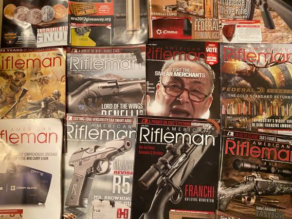 Photo COLLECTORS DREAM LIBRARY OF AMERICAN RIFLEMAN MAGAZINES - $90 (HUNTSVILLE AL)