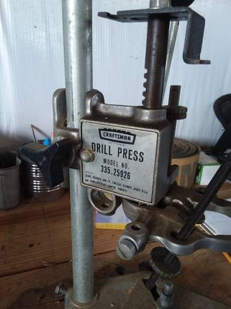 Photo Craftsman Drill Press - $25 (Hazel Green)