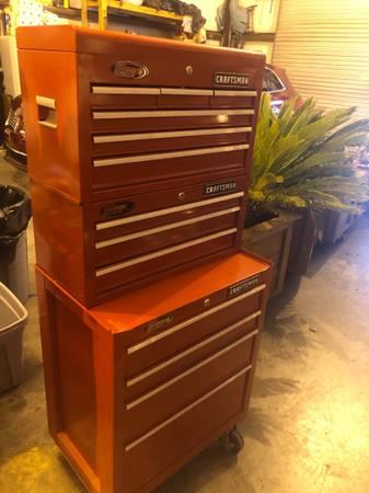 Photo Craftsman Tool Chest - $425 (Somerville)