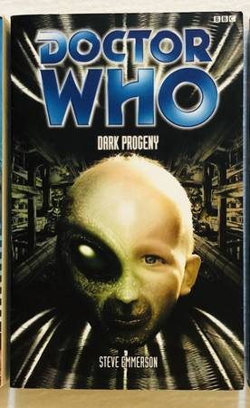 Photo Doctor Who DARK PROGENY Paperback Book by Steve Emmerson - $7 (Madison)