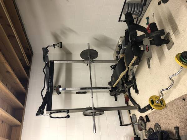 Photo Golds Gym Weight Bench - $275
