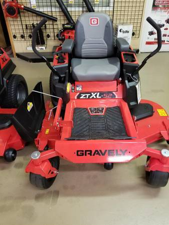 Photo Gravely ZTXL 52 Zero Turn Lawn Mower - $4105 (Madison, Alabama)
