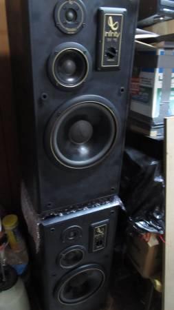 Photo Infinity SM 115 Floor-Standing Speakers - $125 (SE Huntsville)