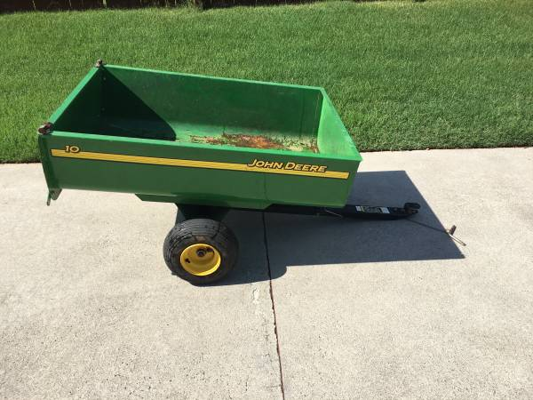 Photo John Deere Dump Trailer - $225 (Huntsville)