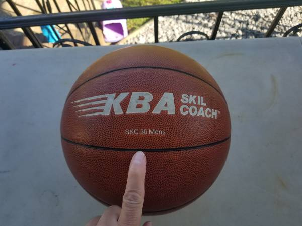 Photo KBA Skil Coach SKC-36 Mens Basketball Trainer (oversized) - $30 (Decatur al)