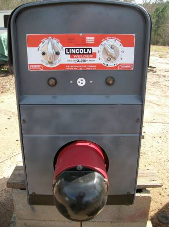 Photo Lincoln SA-200 pipeline welders