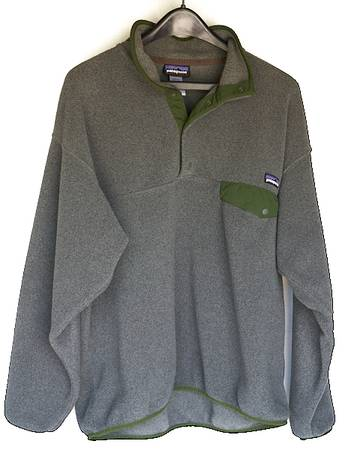 Photo Men39s Jacket Large Patagonia Synchilla Snap-T Fleece Pullover - $30 (Southeast Huntsville, Alabama)