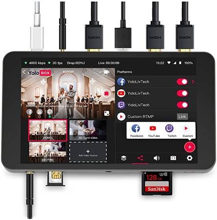 Photo Portable Multi-Camera Live Streaming Encoder - NEW UNIT save $BIG - $779 (Nolensville, Nashville, Brentwood)