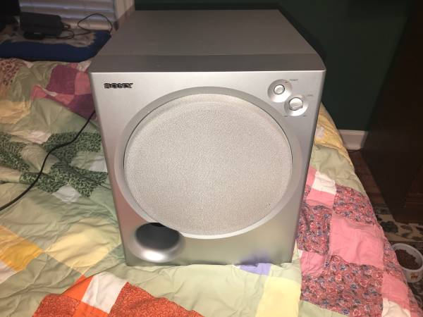 Photo Sony SA-WMSP85 100 Watt 8 Powered Subwoofer - $40 (Madison, AL.)