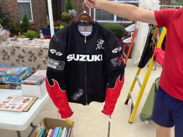 Photo Suzuki Joe Rocket Motorcycle Jacket - $65 (Harvest)