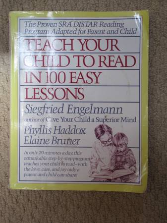 Photo Teach Your Child to Read in 100 Easy Lessons - $7 (Madison)