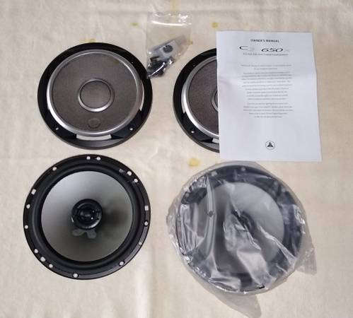 Photo Two(2) Pairs 6.5quot Coax car speakers. JL Audio  CDT Audio - $200 (Huntsville)