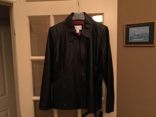 Photo Worthington Womens Leather Jacket - $30 (MADISON)
