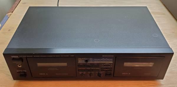 Photo Yamaha Dual Cassette Deck model KX-W332 Made in Japan - $55