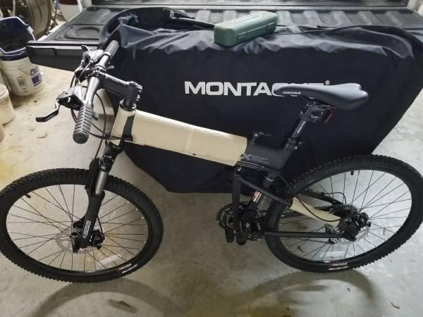 Photo montague paratrooper folding bike - $500 (boaz)