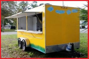 Photo the 2011 fast food trailer__)_ Very good work and running condition. - $800 (huntsville)