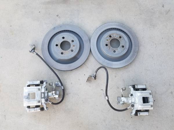 Photo 13quot Ford 8quot or 9quot Rear Disc Brake Conversion New. Mustang Cougar ETC - $275