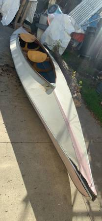 Photo 1939 Folboat 2 place kayak with sail rig - $99 (mid city)