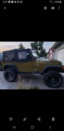 Photo 1997 jeep wrangler 4x4 LS v8 trade - $14,500 (El Centro)
