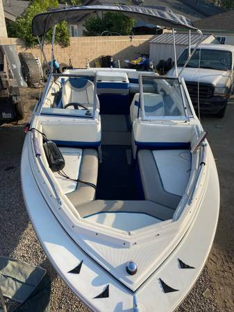 Photo 1998 bayliner boat ready for water today - $14,000 (Burbank)