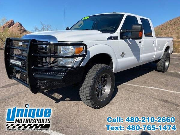 Photo 2012 FORD F-350 LARIAT CREW CAB TRUCK LONGBED  6.7 TURBO DIESEL  - $38,995 (DELIVERED RIGHT TO YOU NO OBLIGATION)