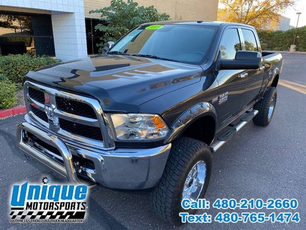 Photo 2015 DODGE RAM 2500 4WD CREW CAB SLT LIFTED  UNIQUE TRUCKS - $37,995 (DELIVERED RIGHT TO YOU NO OBLIGATION)