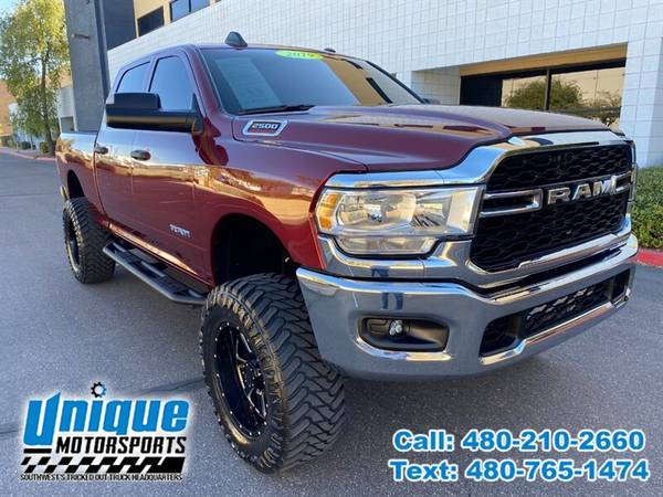 Photo 2019 DODGE RAM 2500 TRADESMAN 4X4 CREW CAB LIFTED  UNIQUE TRUCKS - $48,995 (DELIVERED RIGHT TO YOU NO OBLIGATION)