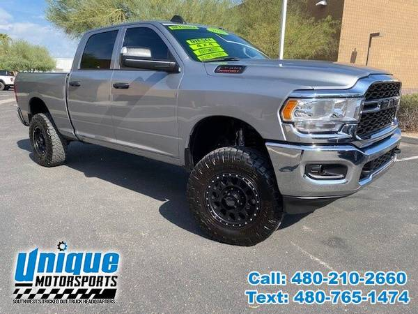 Photo 2019 DODGE RAM 2500 TRADESMAN 4X4 CREW CAB LIFTED  TRUCKS - $57,995 (DELIVERED RIGHT TO YOU NO OBLIGATION)