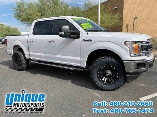 Photo 2019 FORD F-150 XLT SUPER CREW TRUCK  LEVELED  HOLIDAY SPECIAL - $35,995 (DELIVERED RIGHT TO YOU NO OBLIGATION)